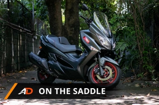 2018 Suzuki Burgman 400 - On the Saddle