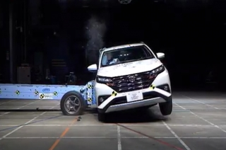 Toyota Rush NCAP Test