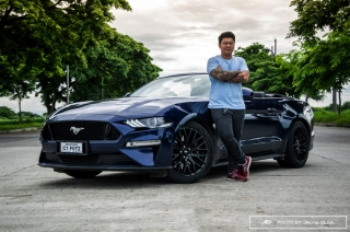 ford mustang convertible GT premium philippines