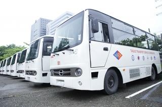 Hino modern jeepney