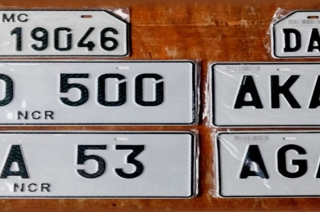 online vehicle license plates