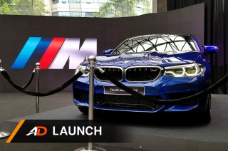 The BMW M5 is now in the Philippines
