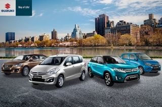 Suzuki Philippines' four top-sellers