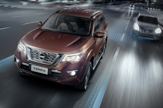 Nissan Terra with Intelligent Mobility