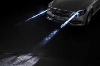 Mercedes-Maybach S-Class Digital Light
