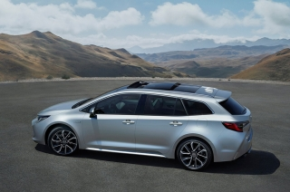 Toyota brings back the station wagon Corolla in a big way.