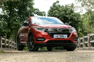 We take the 2019 Honda HR-V through its paces to Tagaytay.