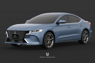 These renders of the Galant are courtesy of a Filipino artist.