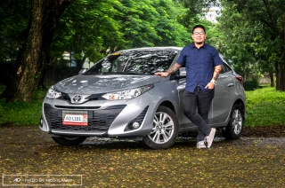toyota yaris 1.3 E review