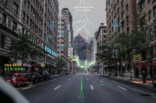 Hyundai WayRay Holographic AR Navigation