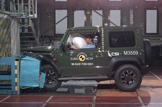 2018 Suzuki Jimny fails Euro NCAP crash test