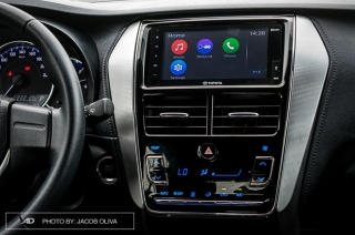 Toyota Yaris infotainment system