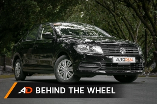 2018 Volkswagen Santana 1.4 Trendline MT - Behind the Wheel
