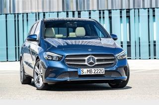 2019 Mercedes-Benz B-Class Paris Motor Show