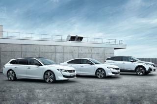Peugeot 2019 plug-in hybrid lineup