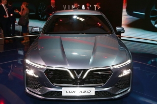 VinFast unveiled two cars in Paris Motor Show