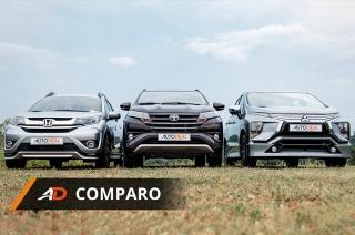 AutoDeal Comparo Toyota Rush MItsubishi Xpander Honda BR-V