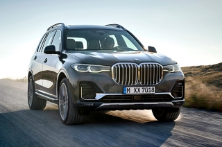 BMW X7 world debut