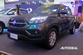 2019 SsangYong Musso at 2018 PIMS