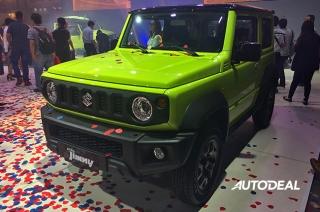 2019 Suzuki Jimny at 2018 PIMS