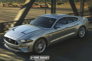 Could Ford's performance muscle car will be getting a dose of practicality?