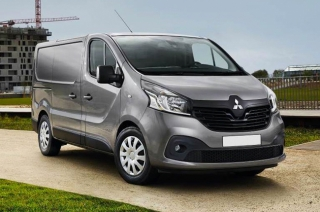 Mitsubishi van based on Renault Trafic