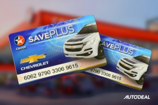 Chevrolet-Caltex Save Plus Card