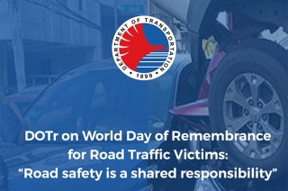 The DOTr wants the public to know that it will continue with projects aimed at driver education and