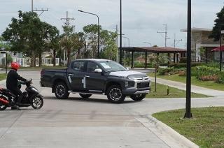 2019 Mitsubishi Strada spy shots