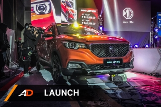 MG makes its official debut in the Philippines