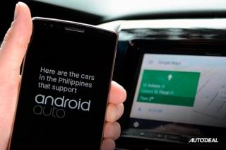 Cars in the Philippines with Android Auto