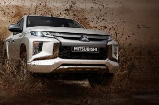 Facelifted Mitsubishi Strada