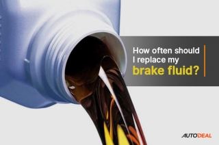 How often should I replace my brake fluid?
