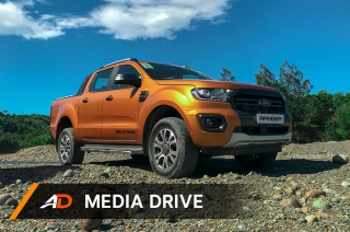 2019 Ford Ranger Wildtrak - Media Drive