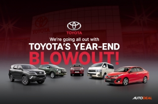 Toyota's Year-end Blowout