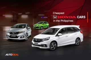 Cheapest Honda Cars in the Philippines