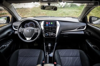 2019 Toyota Vios 1.3 Interior and Cargo Space
