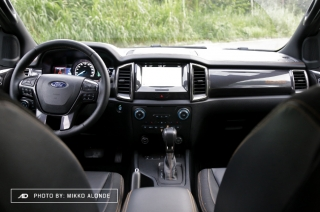 2019 Ford Ranger Wildtrak 2.0 Single-Turbo Interior