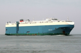 Serenity Ace Car Carrier Vessel