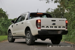 2019 Ford Ranger Wildtrak 2.0 4x2 safety and technology