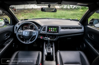 2019 honda hr-v interior and cargo space