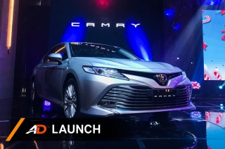 2019 Toyota Camry - Launch