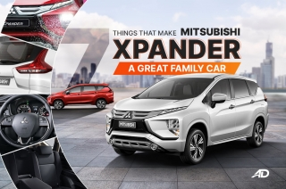 7 things that make the Mitsubishi Xpander a great family vehicle