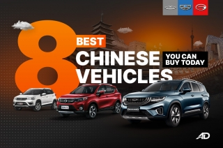 8 Best Chinese vehicles you can buy today in the Philippines