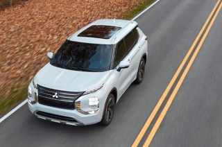 All-new Mitsubishi Outlander earns TopSafety Pick+ award