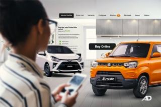 AutoDeal Online Customer Journey