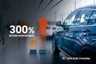 AutoDeal partner dealers 300% ROI