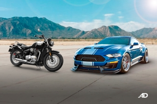 Autohub brings in Triumph and Shelby