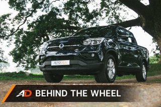 Behind the Wheel - SsangYong Musso