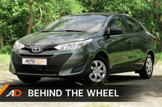 Behind the Wheel - Toyota Vios XE